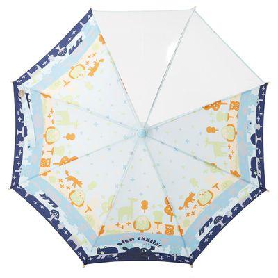 小童雙片透明直傘-森林散步