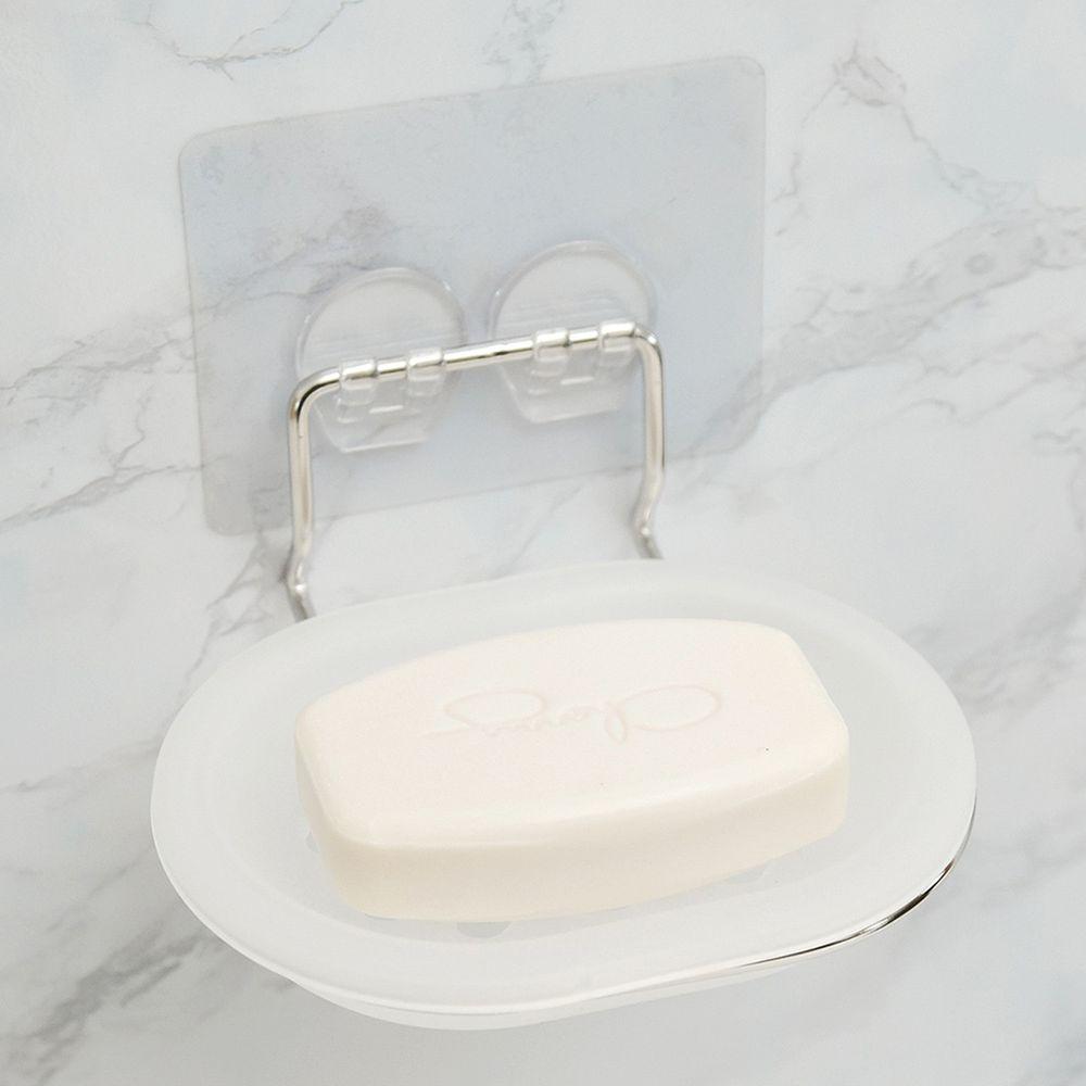 完美主義 Peachy Life - 台灣製304不鏽鋼可拆洗肥皂架-peachylife霧面無膠痕