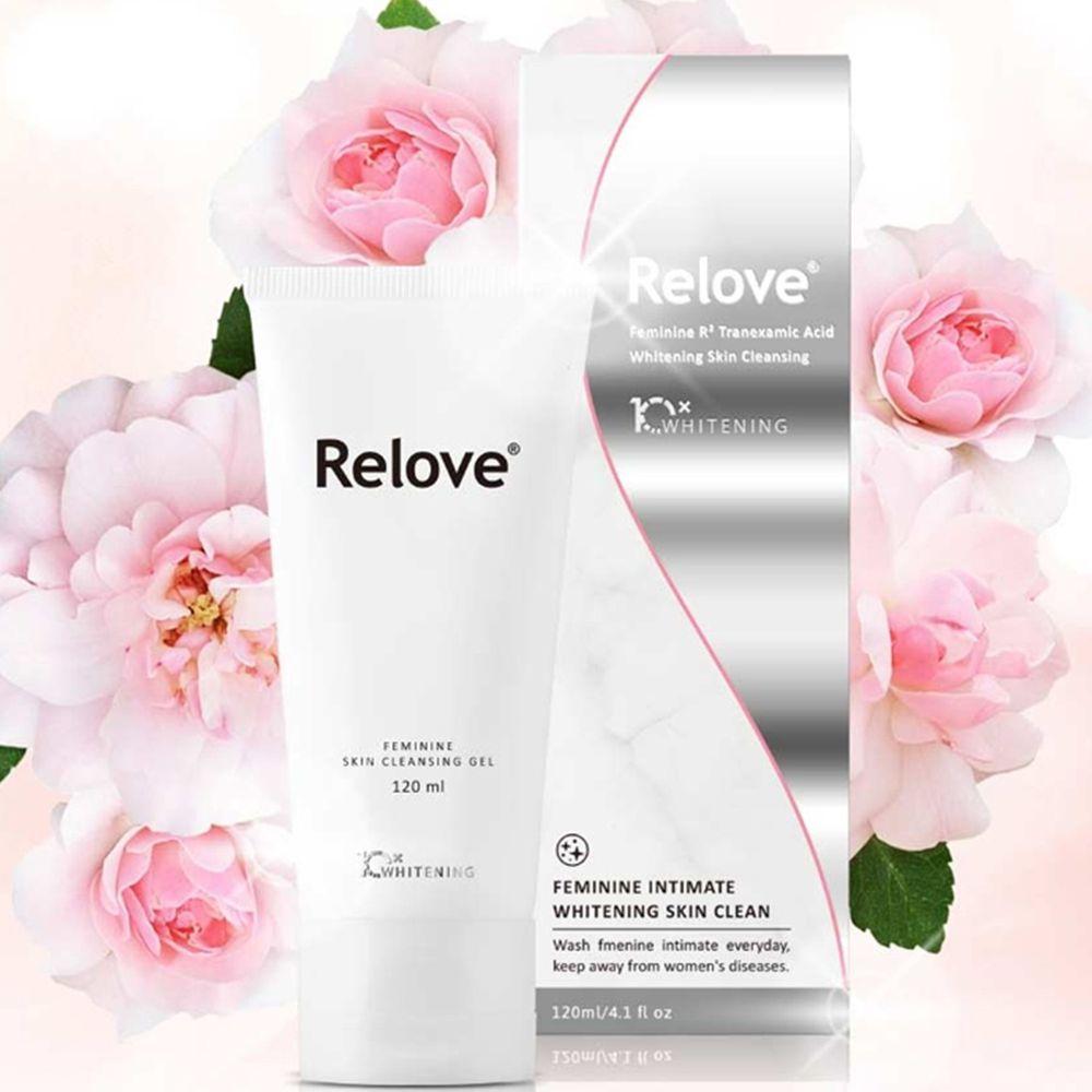 Relove - 私密肌傳明酸美白潔淨精華凝露-120ml