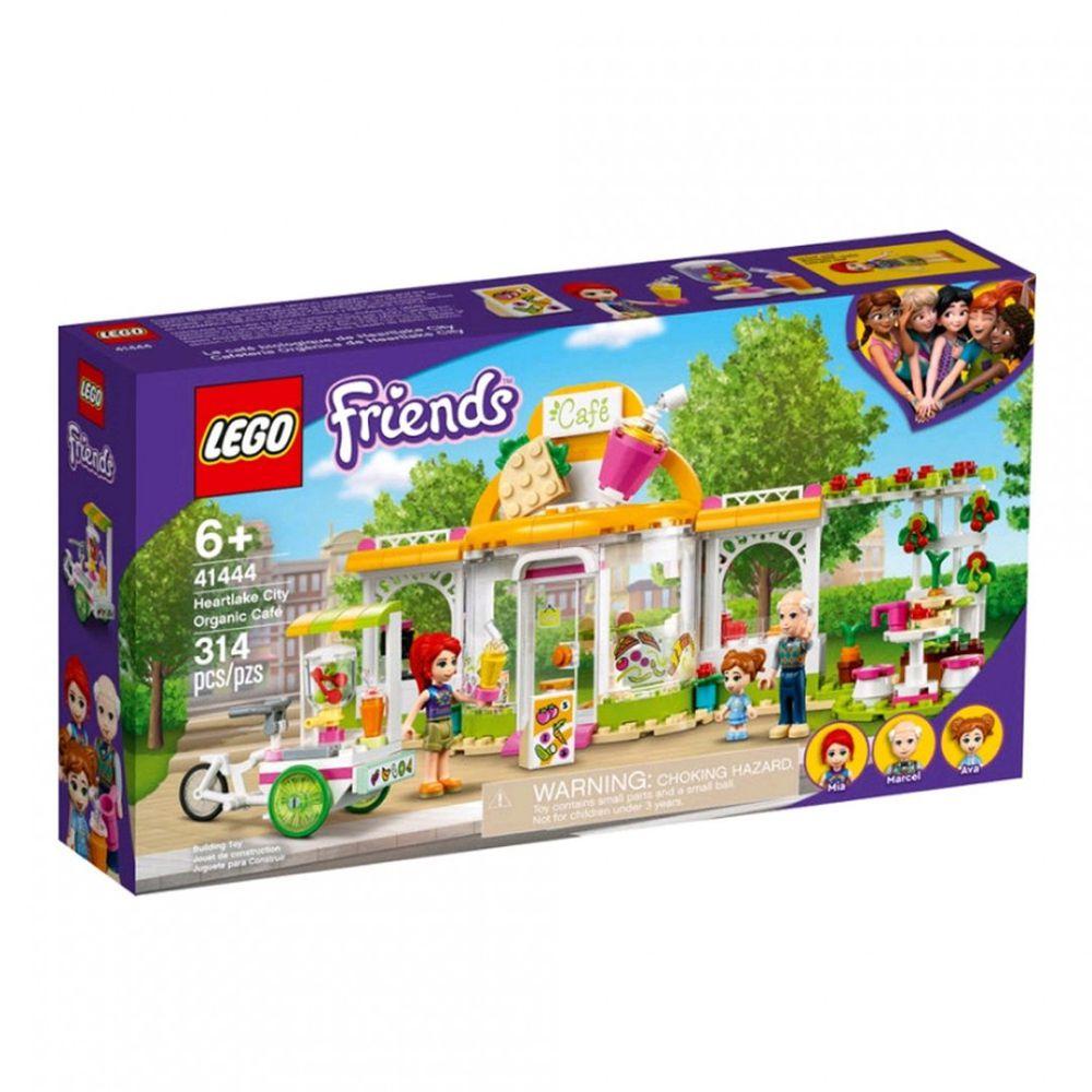 樂高 LEGO - 樂高積木 LEGO《 LT41444 》Friends 姊妹淘系列 - 心湖城有機咖啡廳-314pcs