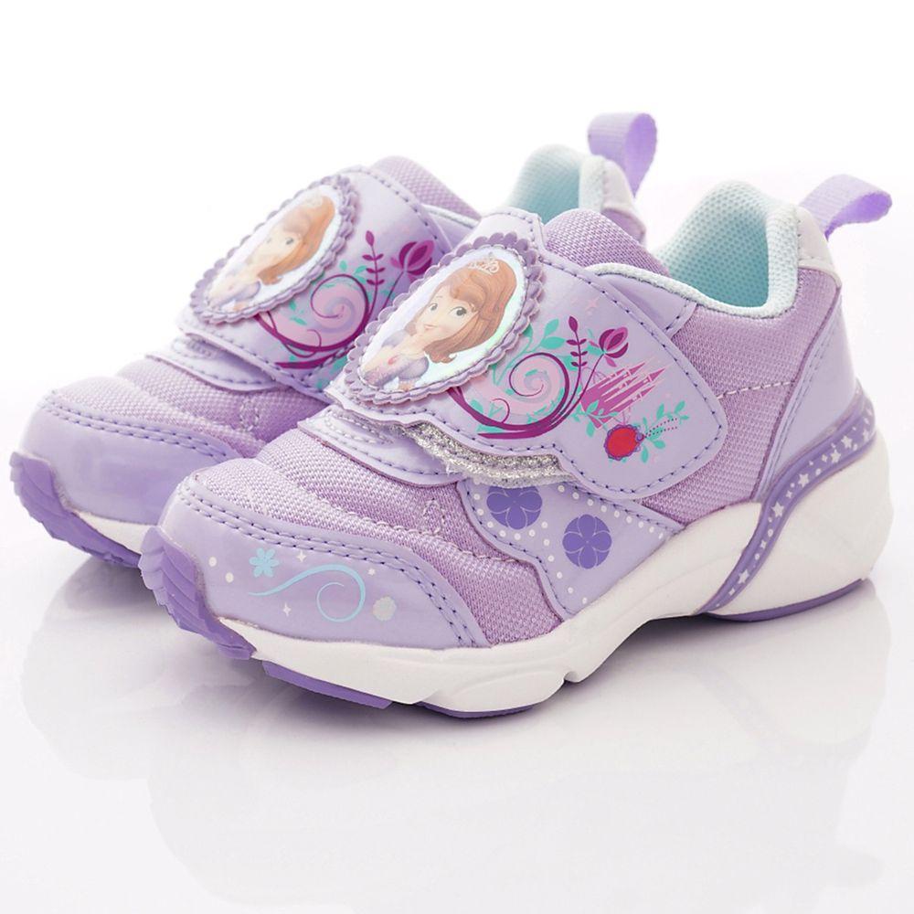 Moonstar日本月星 - 日本月星機能童鞋-蘇菲亞聯名運動鞋款(中小童段)-紫