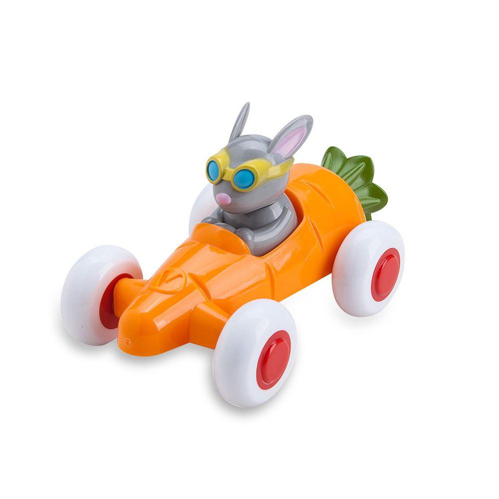 瑞典Viking toys - 動物賽車手-蘿蔔瑞比-14cm