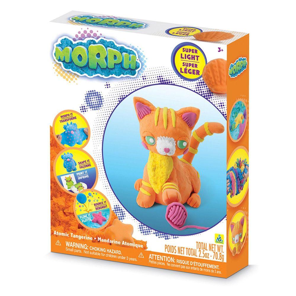 瑞典 MORPH - 魔塑黏土-橘 (L)-70.8g