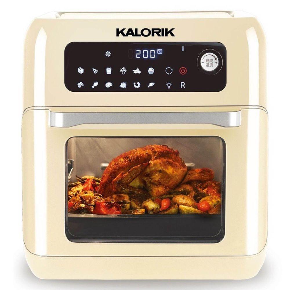 KALORIK 比利時凱瑞克 - 10L旋轉氣炸烤箱-標準版-奶油白 (380x336x368mm)