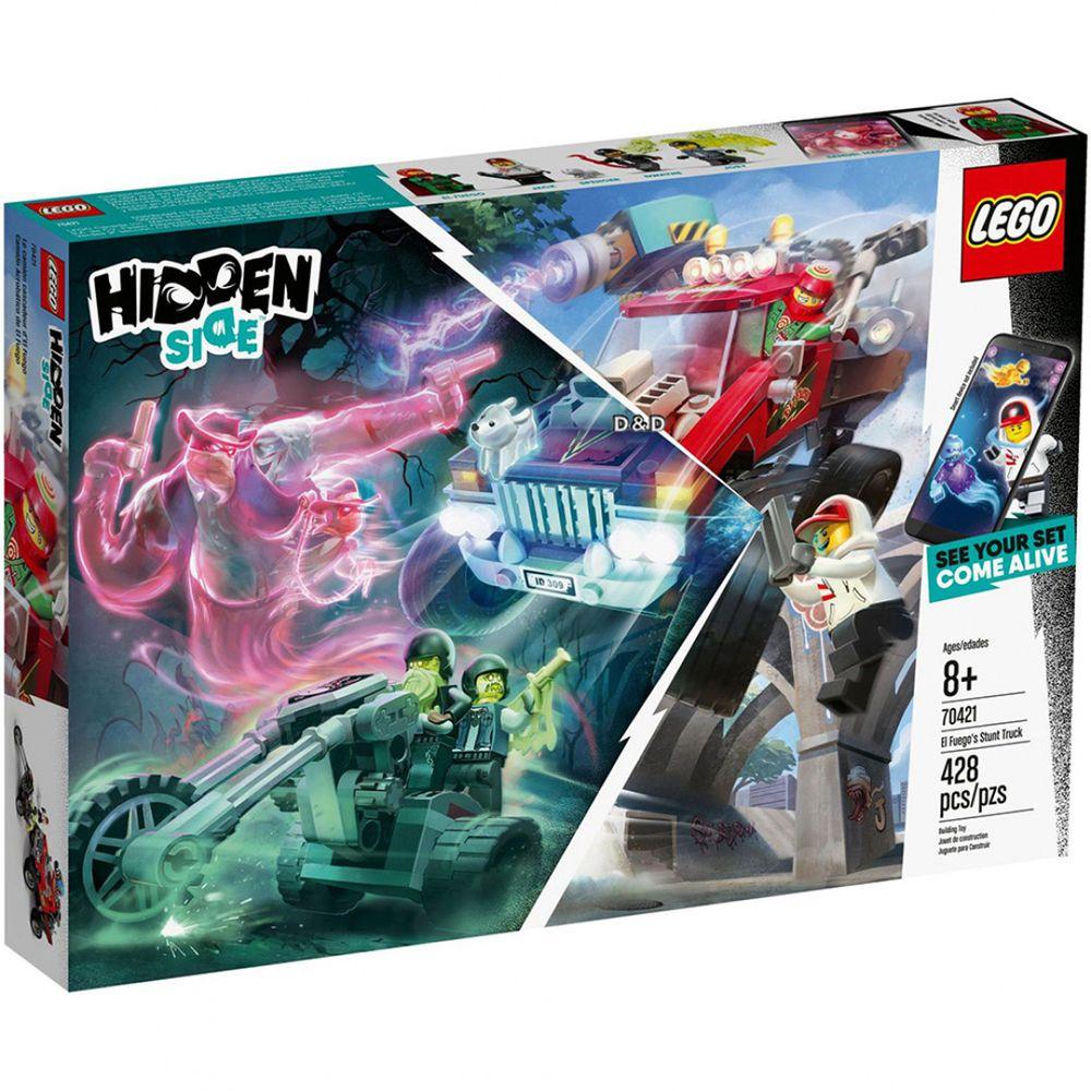 樂高 LEGO - 【新品】樂高Hidden Side幽靈祕境系列-艾弗格的特技卡車 70421-428pcs