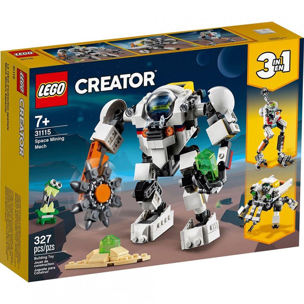 樂高 LEGO - 樂高積木 LEGO《 LT31115 》創意大師 Creator 系列 - 太空採礦機械人-327pcs