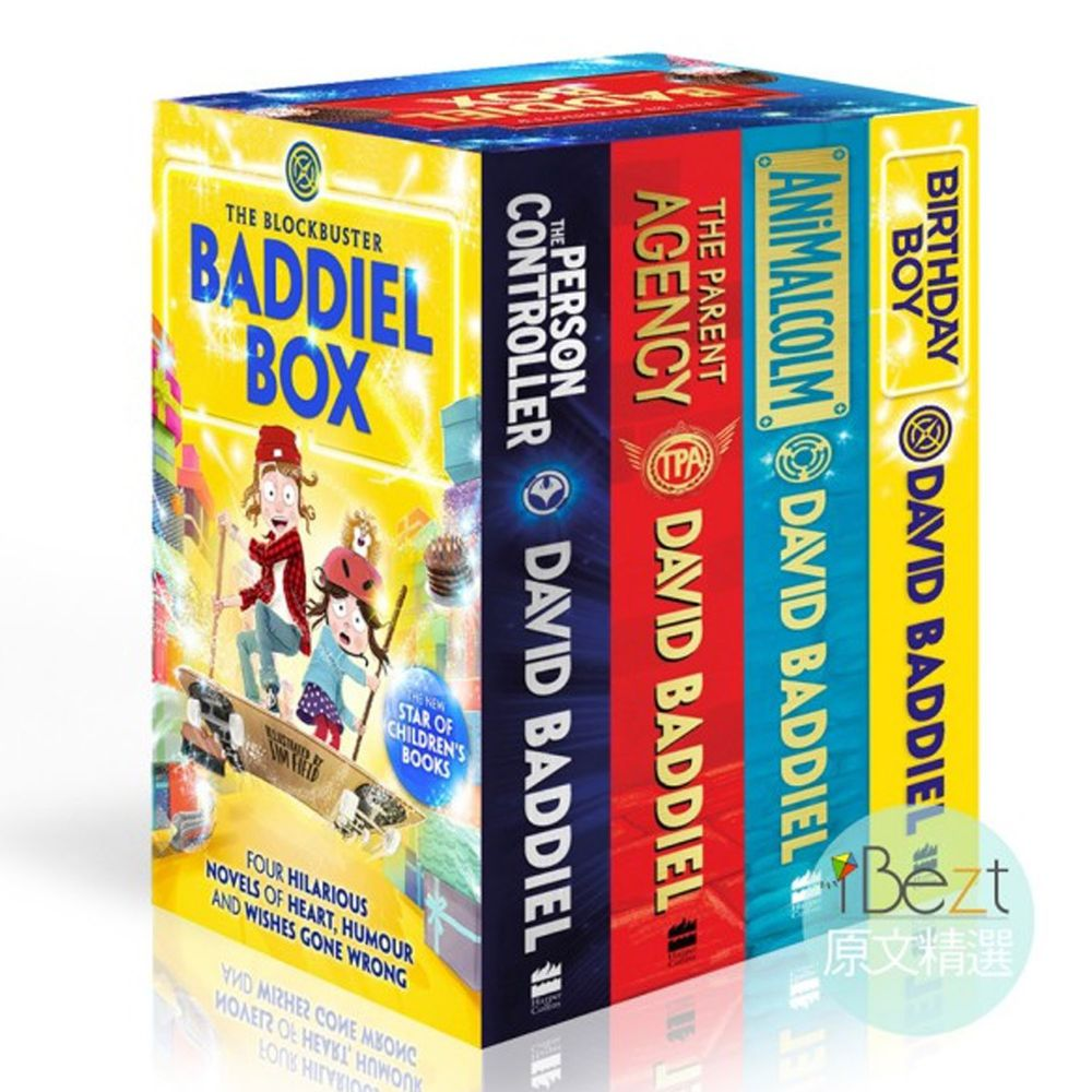The Blockbuster Baddiel Box(Four Hilarious Novels)