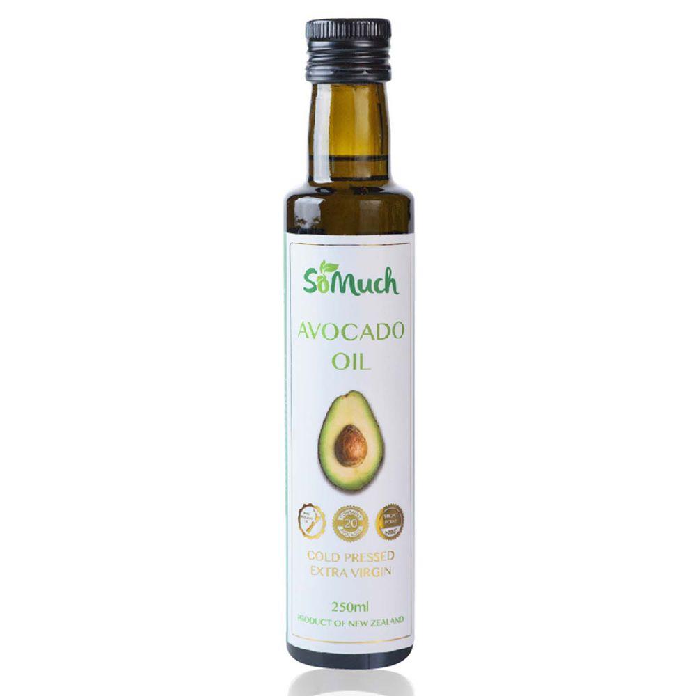 壽滿趣-紐西蘭Somuch - 頂級冷壓初榨酪梨油-250ml