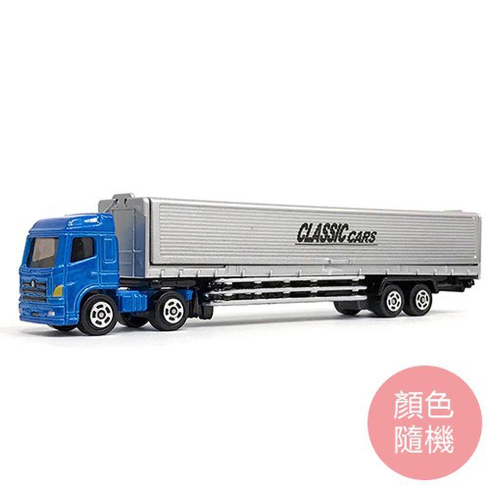 樂彩森林 - 加長合金車-加長貨櫃車(109#)(顏色隨機)-滑行