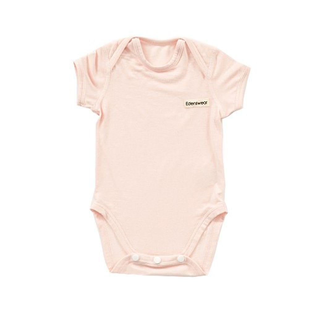 Edenswear 伊登詩 - 鋅纖維抗敏衣系列-小寶寶包屁衣-淺粉