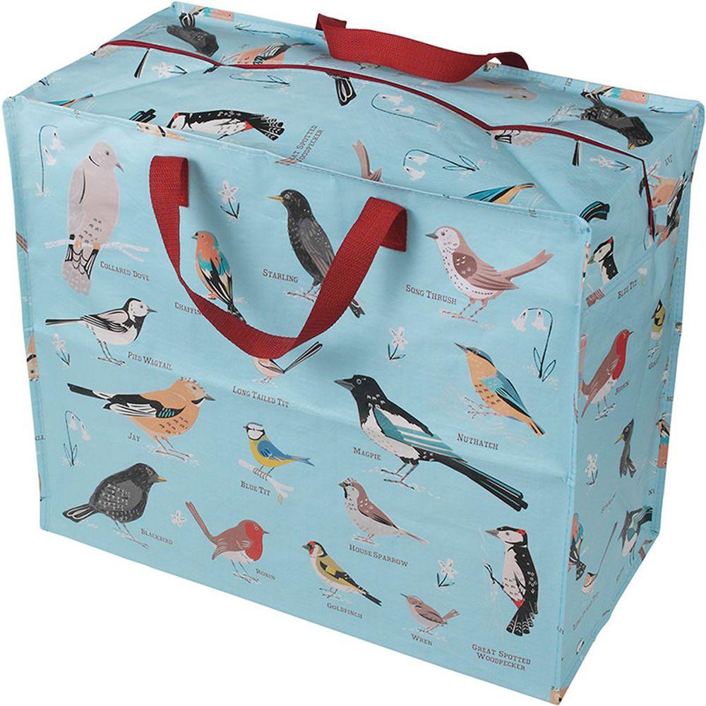 英國 Rex London - 衣物/棉被超大多功能防水環保收納袋/萬用袋-快樂鳥