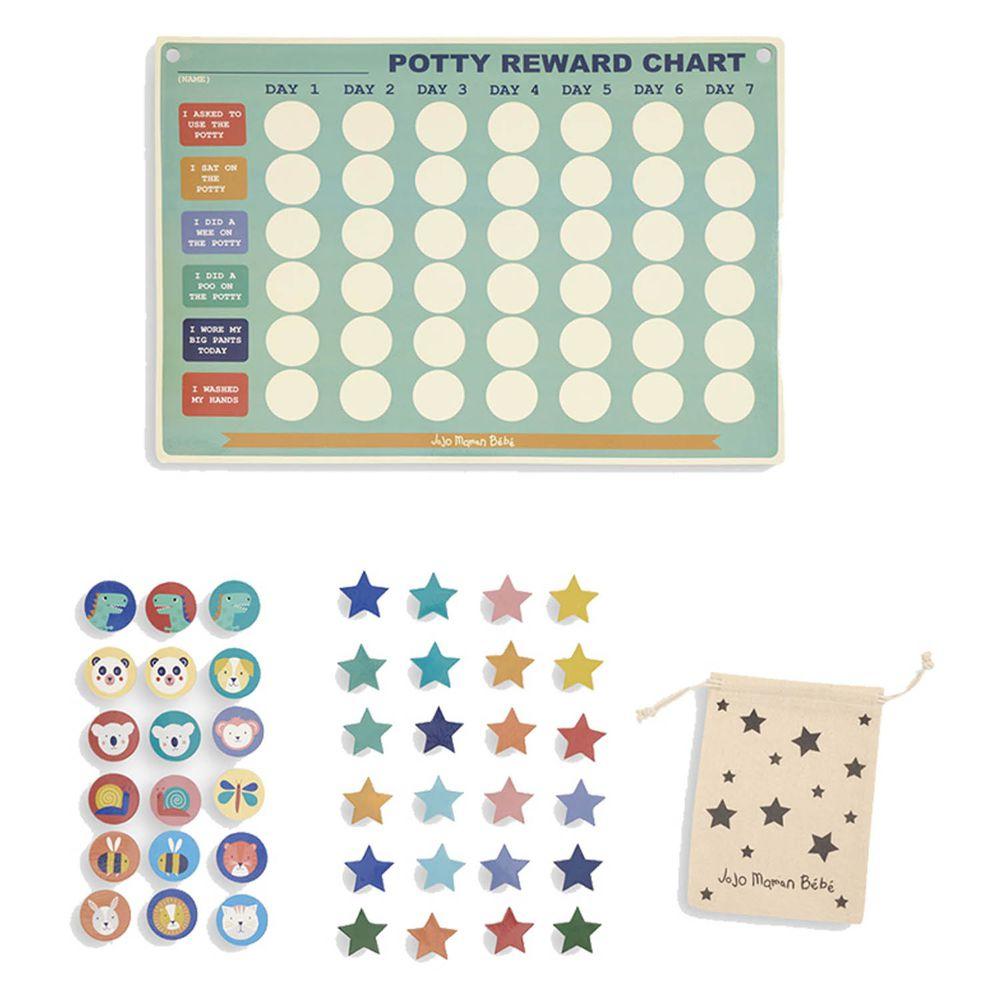 英國 JoJo Maman BeBe - 益智/教學玩具-磁鐵獎勵表