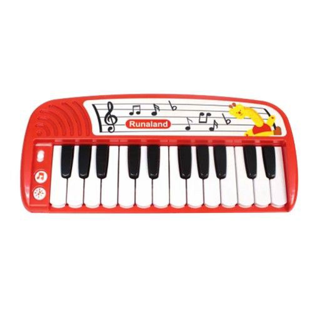 RUNALAND - 寶寶迷你鋼琴-加附簡譜*2張+遊戲書*1