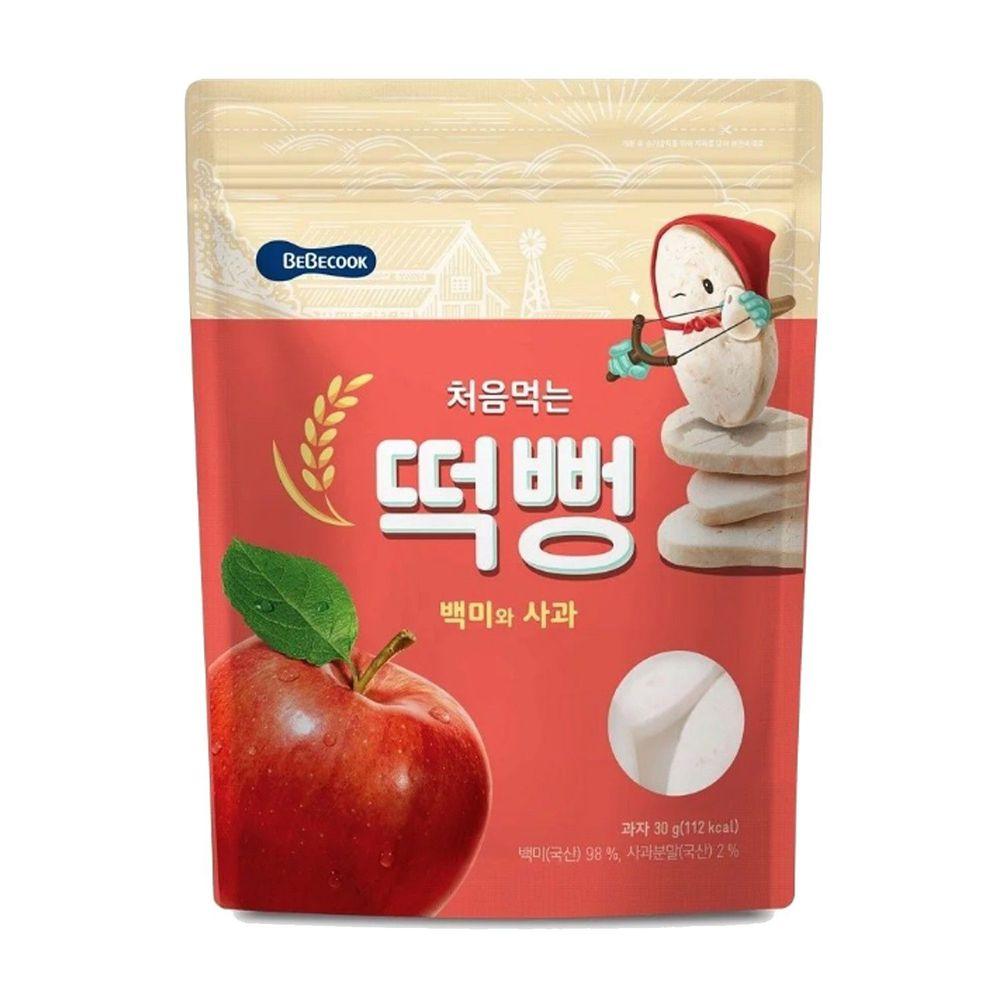 BEBECOOK 寶膳 - 嬰幼兒初食綿綿米餅-蘋果