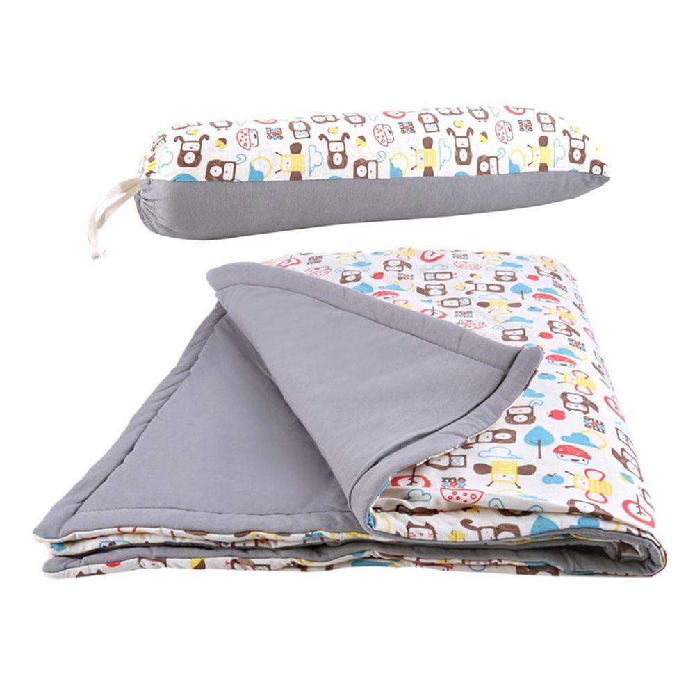 以色列 mezoome - 有機棉精品床寢-四季被-大象灰 (80 x 100 cm)