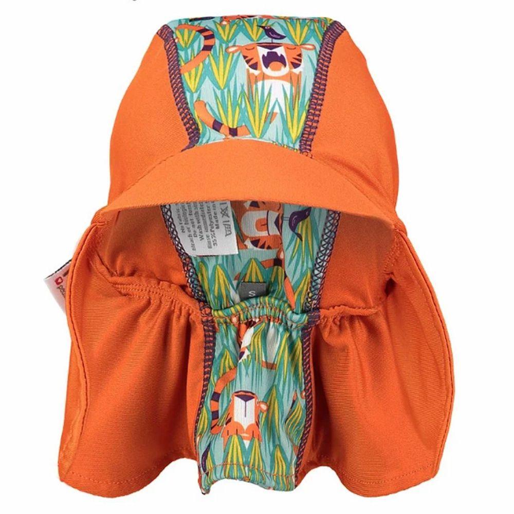 英國Pop-in - 嬰兒抗UV防曬遮頸帽-奧斯虎