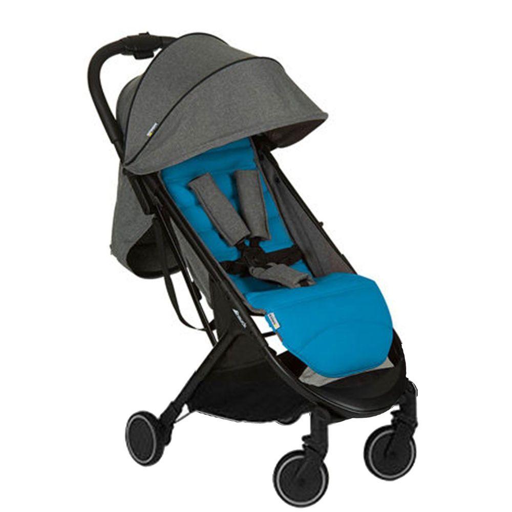 Hauck - Swift 輕量秒收可登機嬰幼兒手推車-波斯藍
