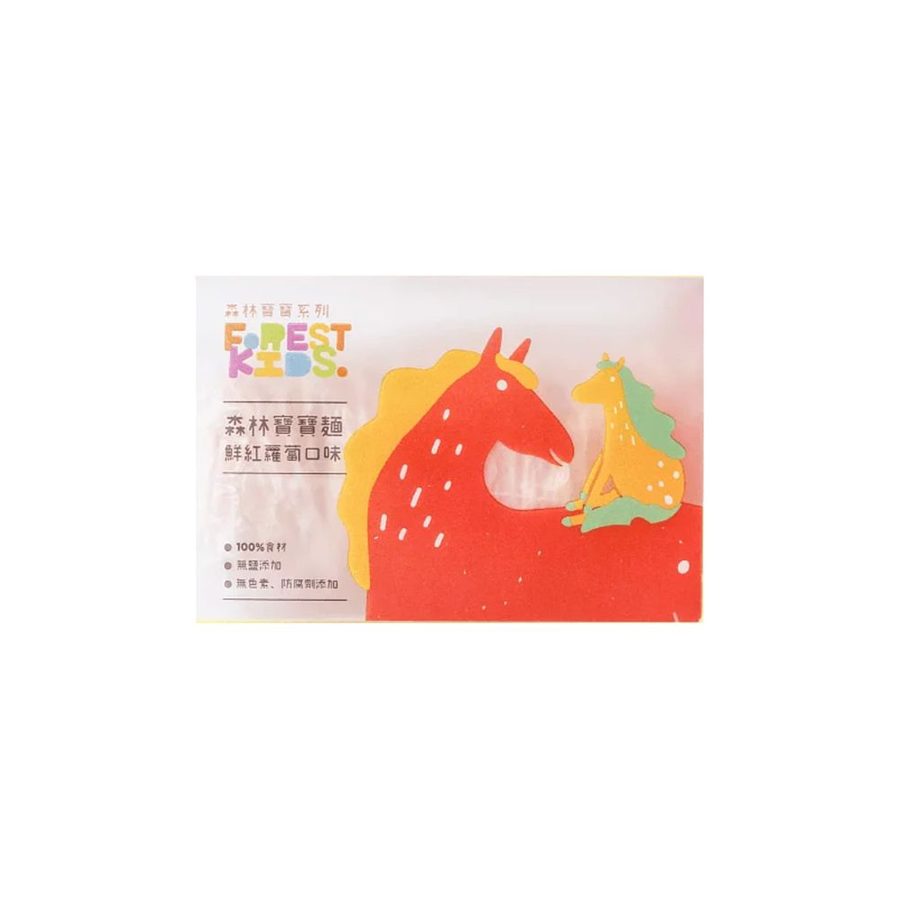 森林麵食 - 紅蘿蔔寶寶麵 8入/盒-40g/份