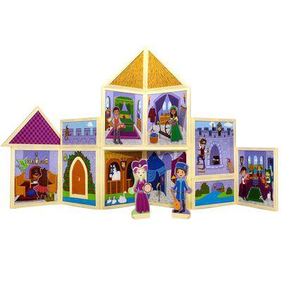 百變娃娃屋-童話城堡-79pcs