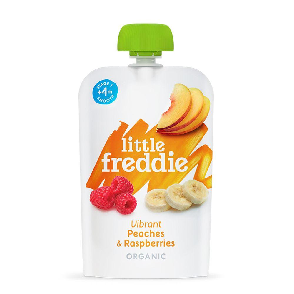 little freddie - 小皮桃子覆盆莓泥-4個月食用