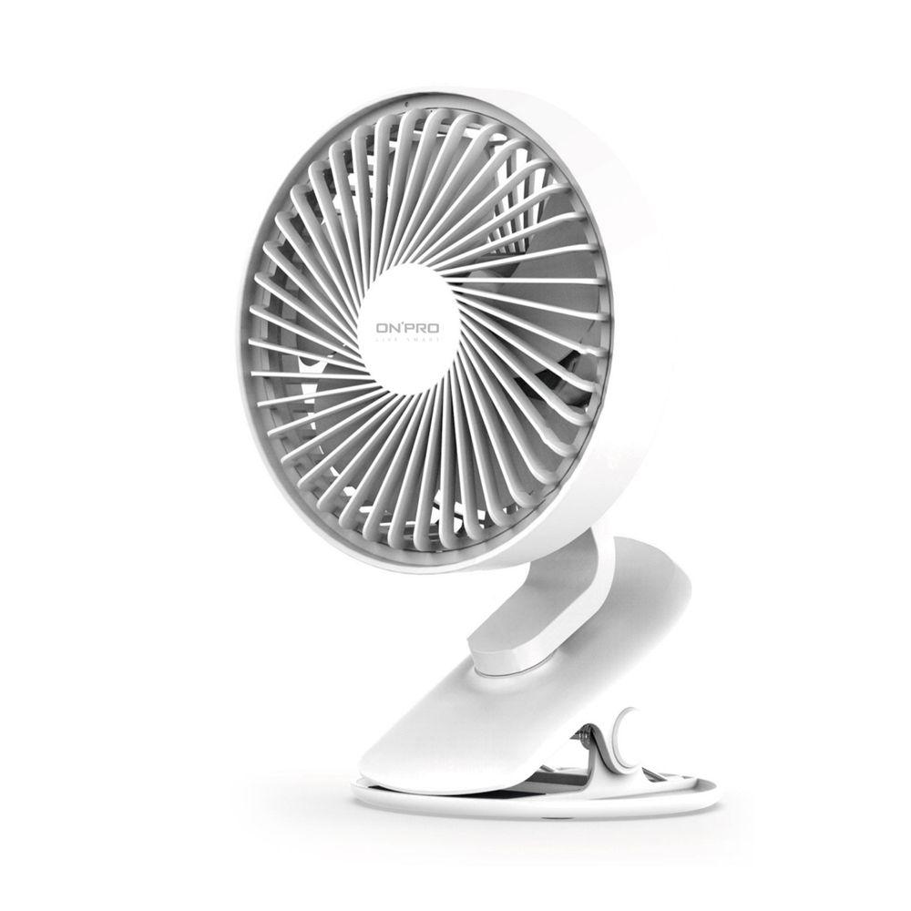 OnPro - 無線小夜燈涼風扇-無印白-UF-IFAN Plus