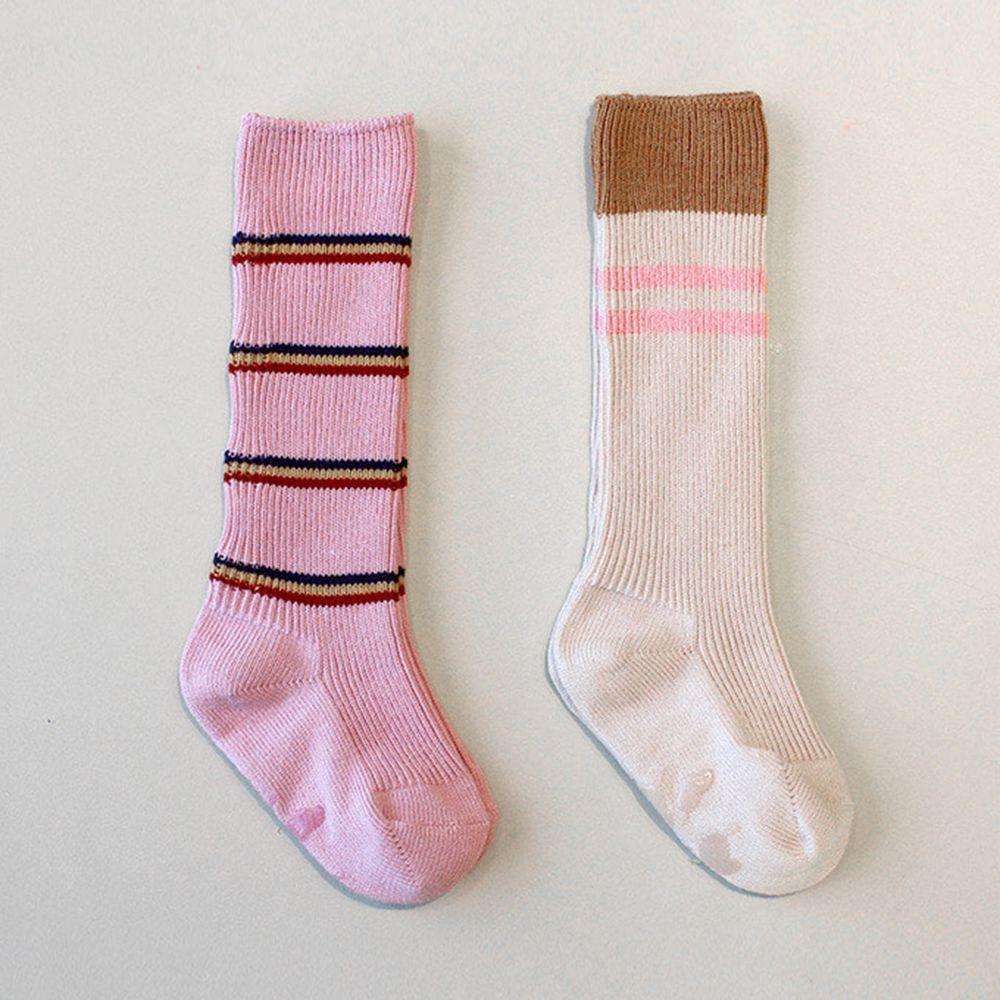 韓國 Kokacharm - 韓國製及膝襪-二件組-Today