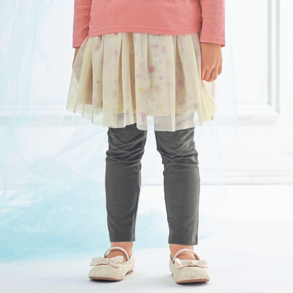 日本千趣會 - 三麗鷗紗裙內搭褲裙-Hello Kitty-灰米