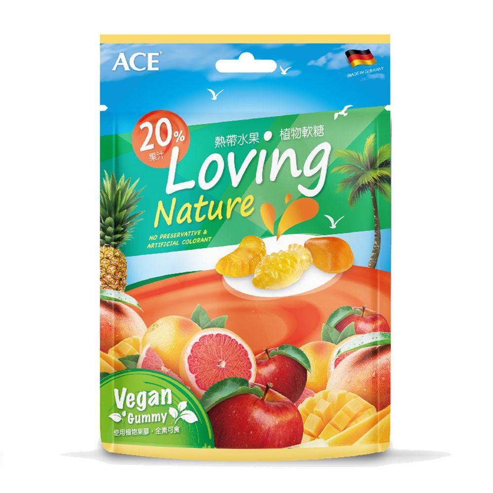 ACE - 熱帶水果植物軟糖-160公克/袋