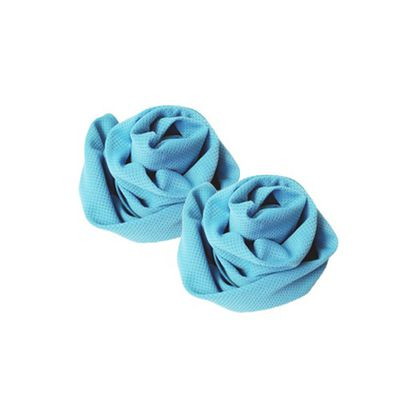 酷涼巾二入組-藍