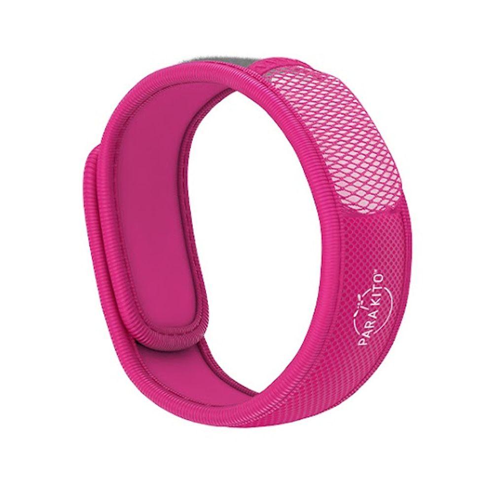法國 PARA'KITO 帕洛 - 天然精油防蚊手環-繽紛款-粉色