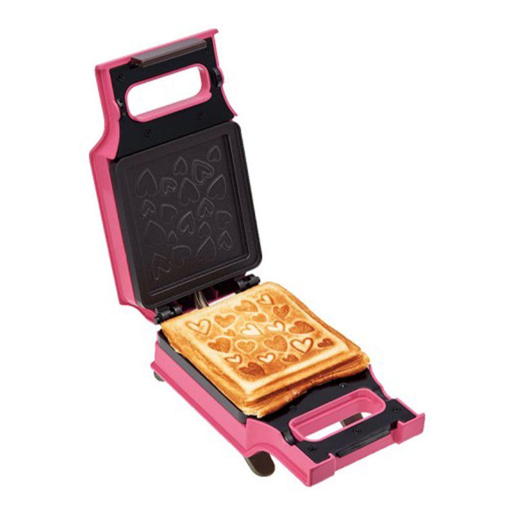 麗克特 recolte - Press Sand Maker 格子三明治機-愛心限定款
