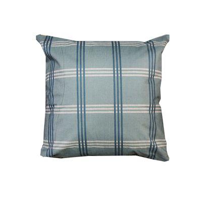 品味英倫棉麻抱枕-U92英倫格紋 (44x44cm)-枕套*1+枕心*1
