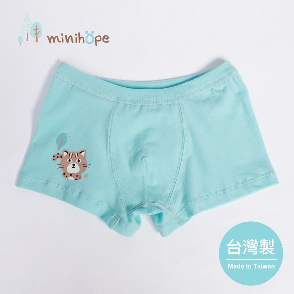 minihope美好的親子生活 - 勇敢小石虎男童四角褲