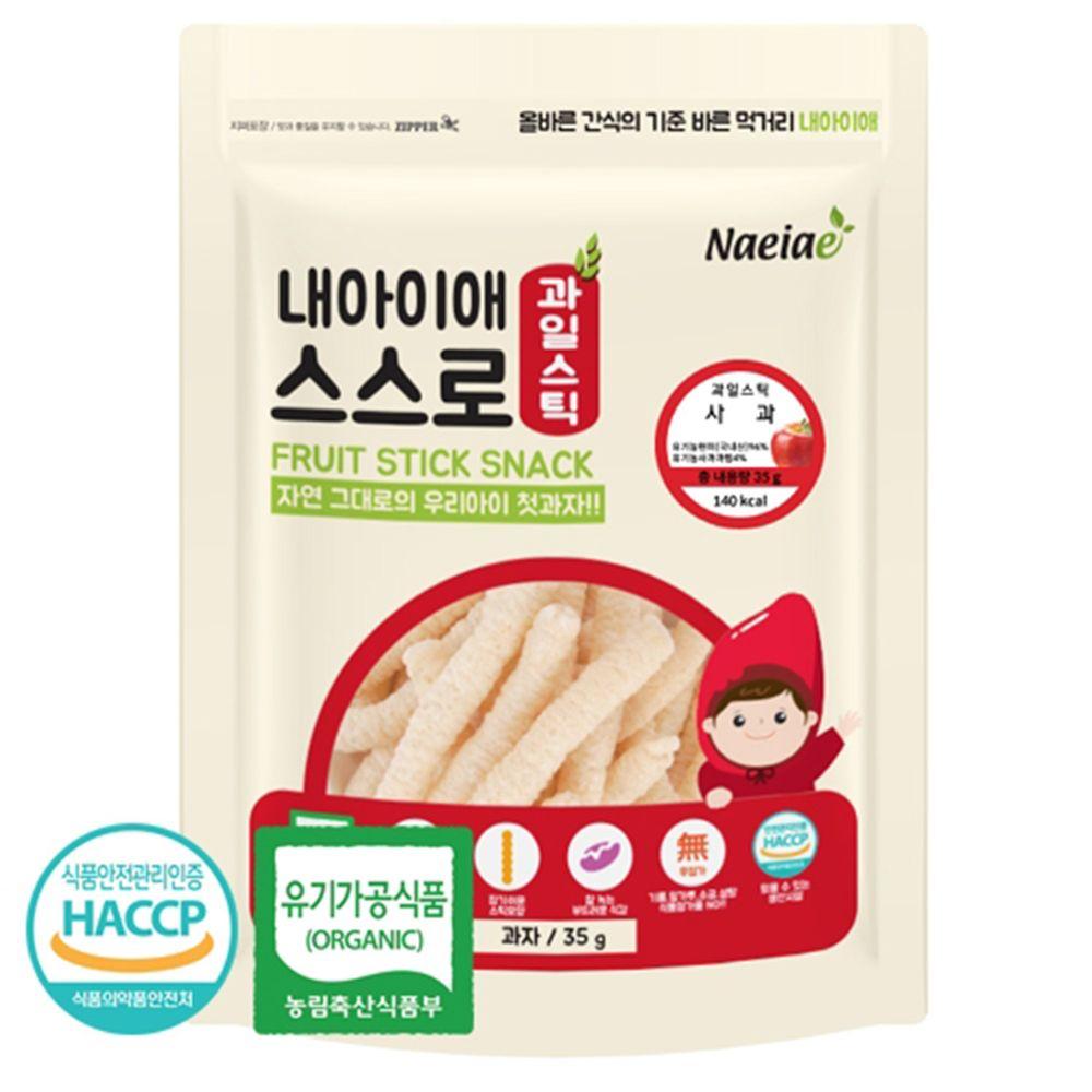 Naeiae - Naeiae韓國米棒-蘋果-35g