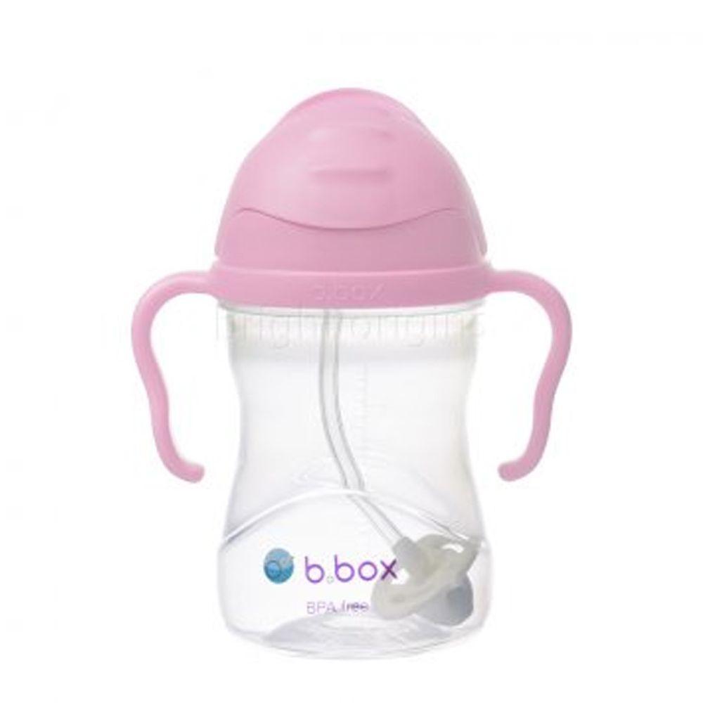 澳洲 b.box - 升級版防漏水杯-櫻花粉-240ml
