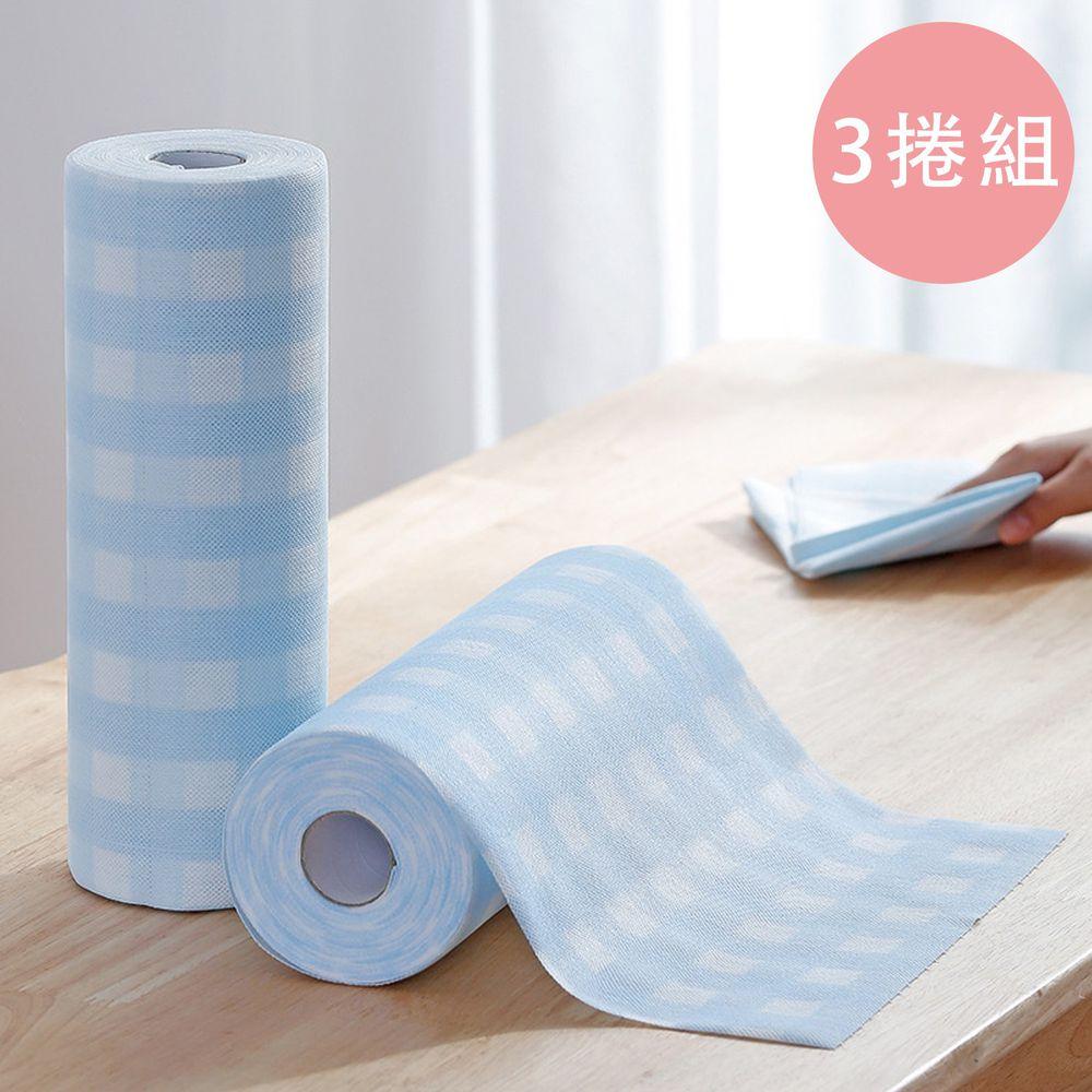日本霜山 - 超吸力去汙拋棄式不織布抹布-3捲組