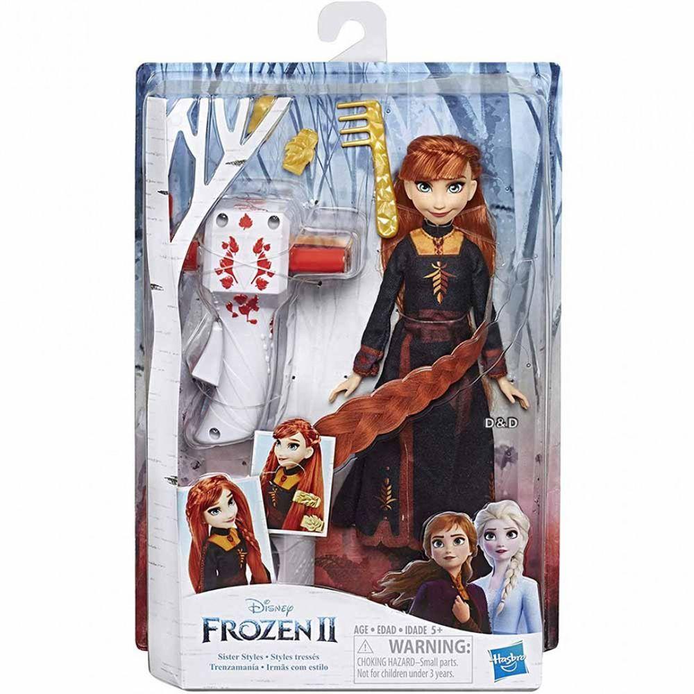 Disney 迪士尼 - 《 Disney 迪士尼 公主 》冰雪奇緣2公主裝扮頭髮遊戲組-安娜