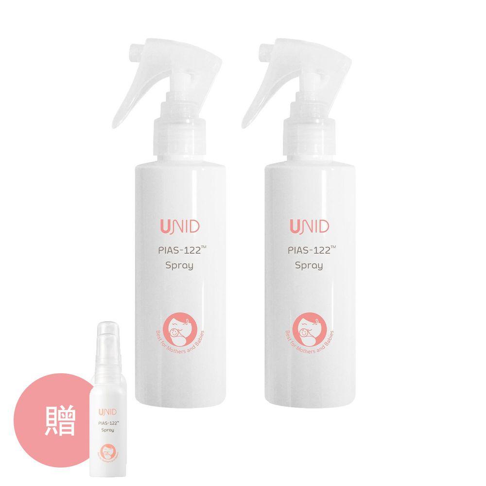 美國 UNID - 克流菌噴霧PIAS-122 Spray-200ml*2+贈10ml