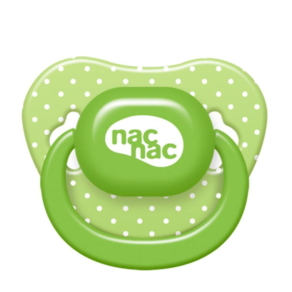 nac nac - 拇指型安撫奶嘴(0-6M)-芭樂綠