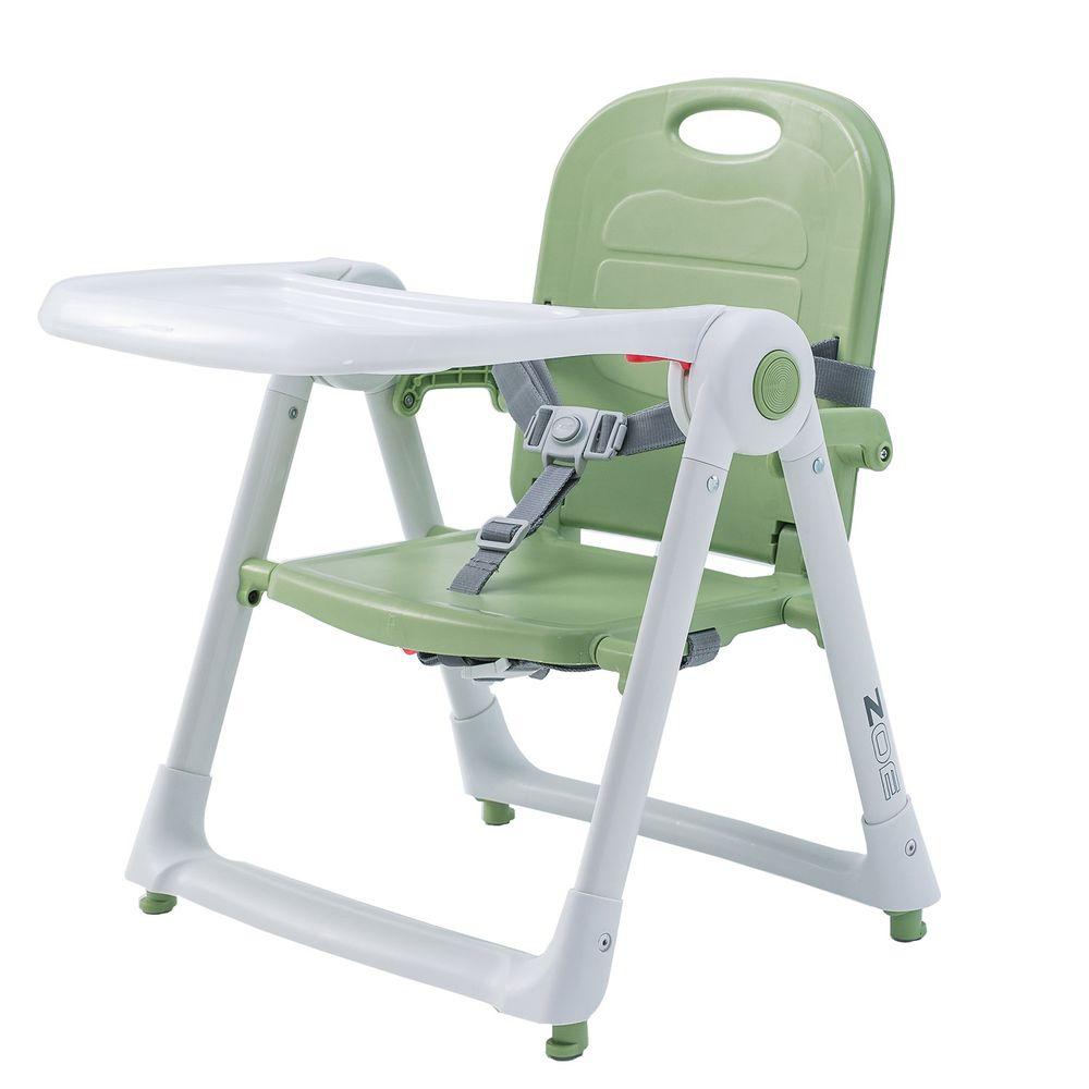美國 ZOE - 可攜式折疊兒童餐椅-抹茶綠