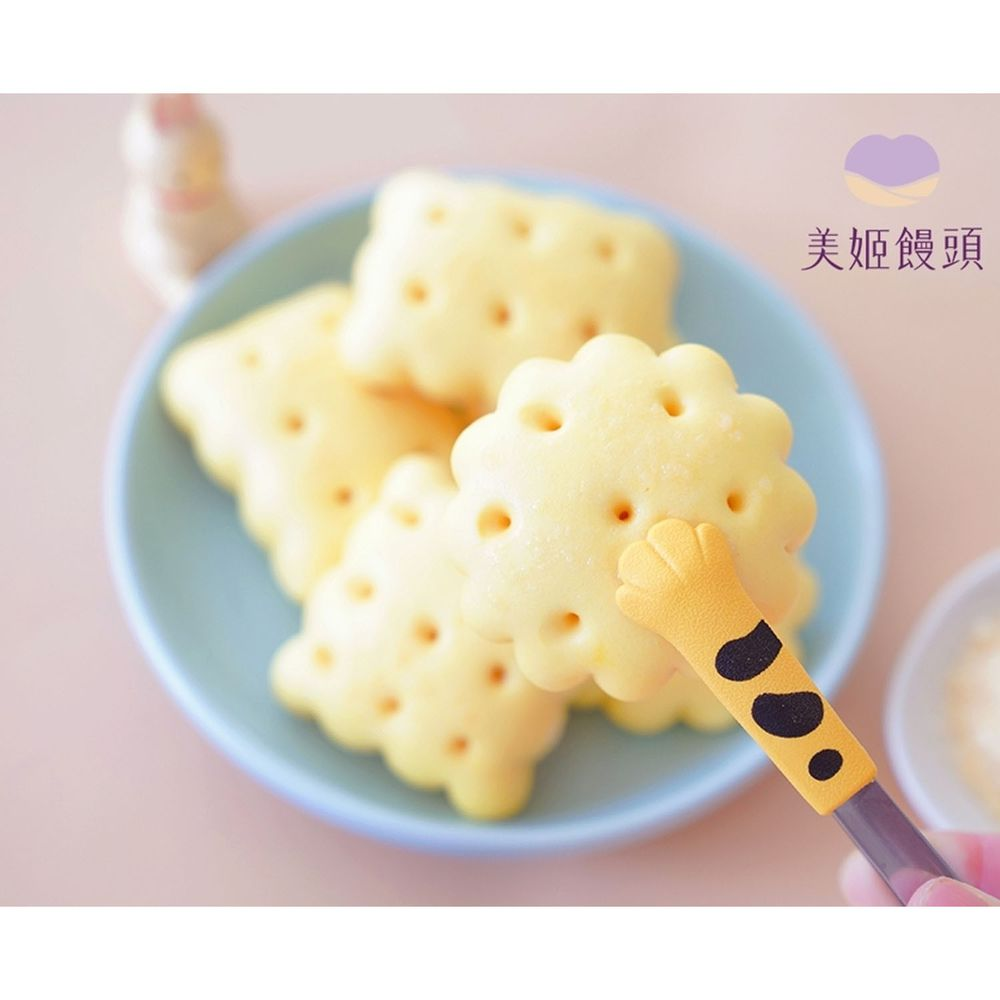 美姬饅頭 - 起司餅乾鮮乳造型饅頭-8入-20g/顆