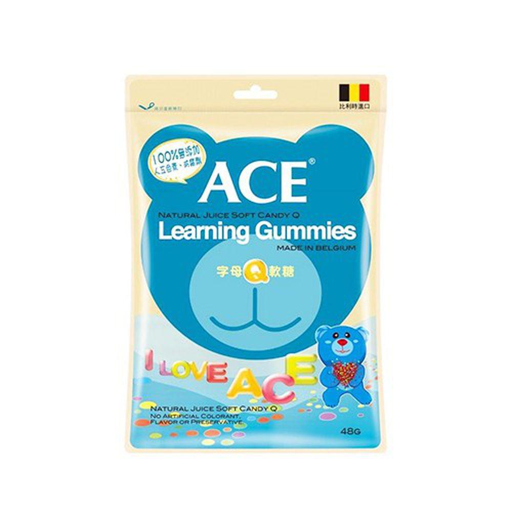 ACE - 字母Q軟糖*2-240g/袋