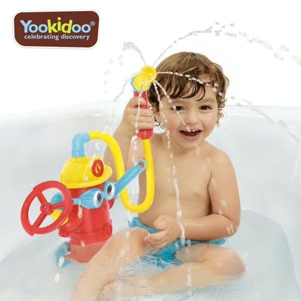 讓寶寶愛上洗澡【Yookidoo 洗澡玩具】開心洗澎澎,晚上更好睡