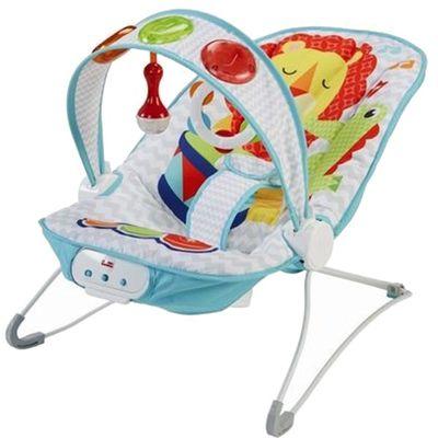 美國Fisher-Price 費雪 - 費雪踢踢腳鋼琴躺椅