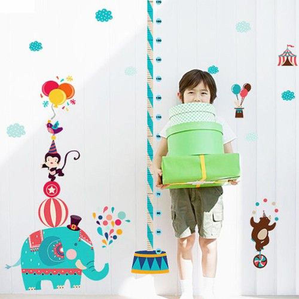 JB Design - 時尚壁貼-馬戲團身高貼 (60cm*90cm)