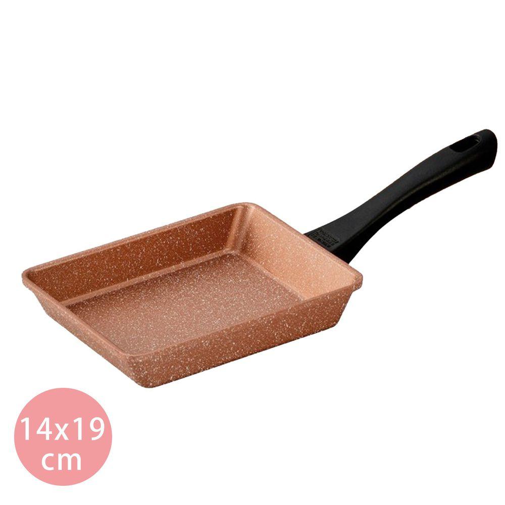 日本北陸 hokua - 極輕古銅金不沾玉子燒-14x19cm