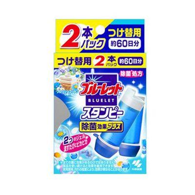 BLUELET馬桶清潔芳香凝膠補充管2入(清新棉香)-28g*2