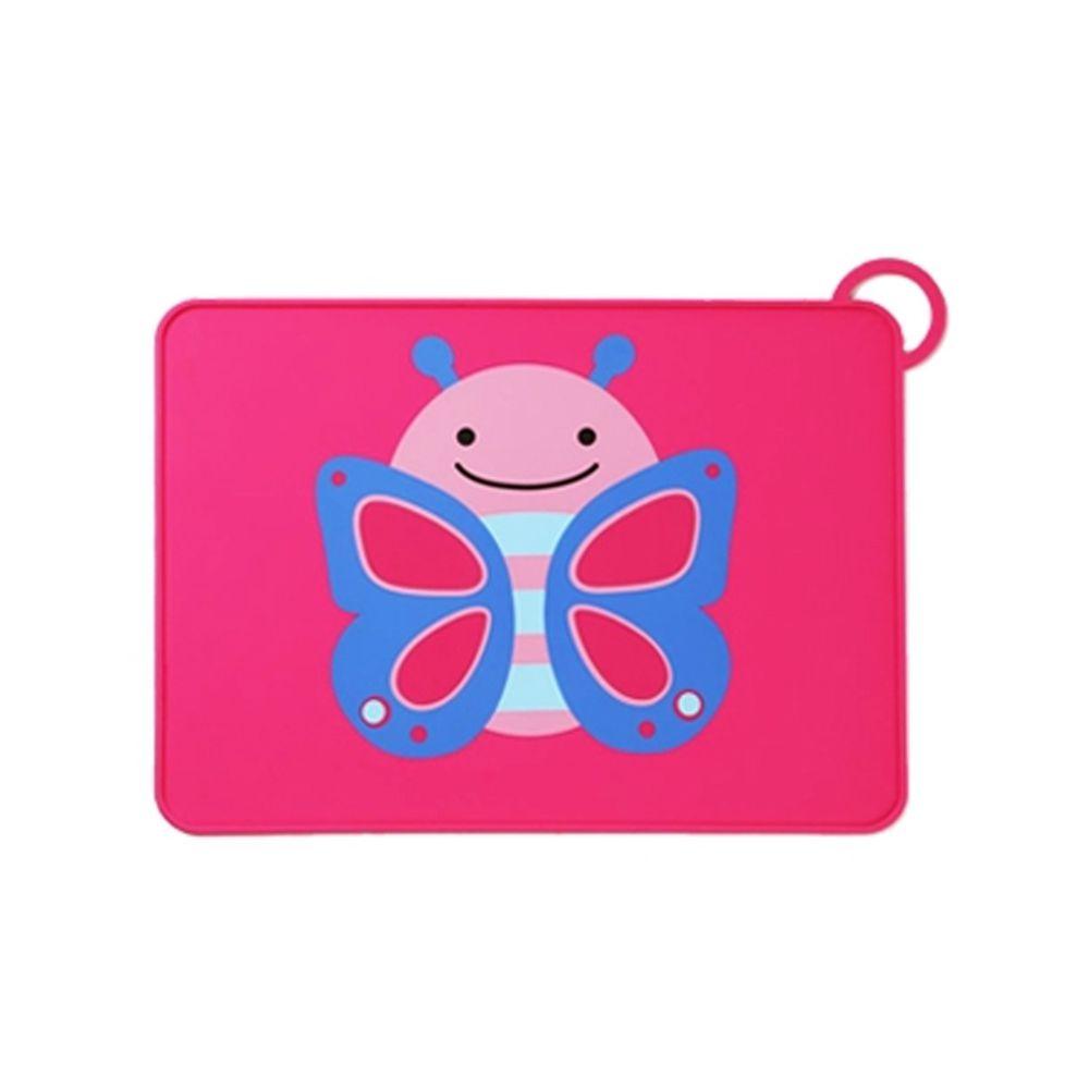 美國 SKIP*HOP - 矽膠餐墊-蝴蝶
