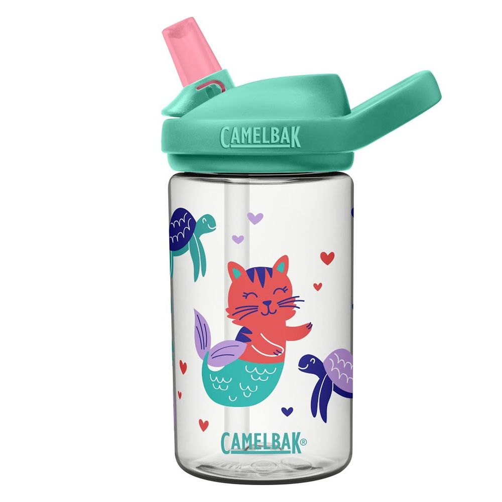 CamelBak - EDDY+ 兒童吸管運動水瓶-童話美人魚 (400ml)-專案