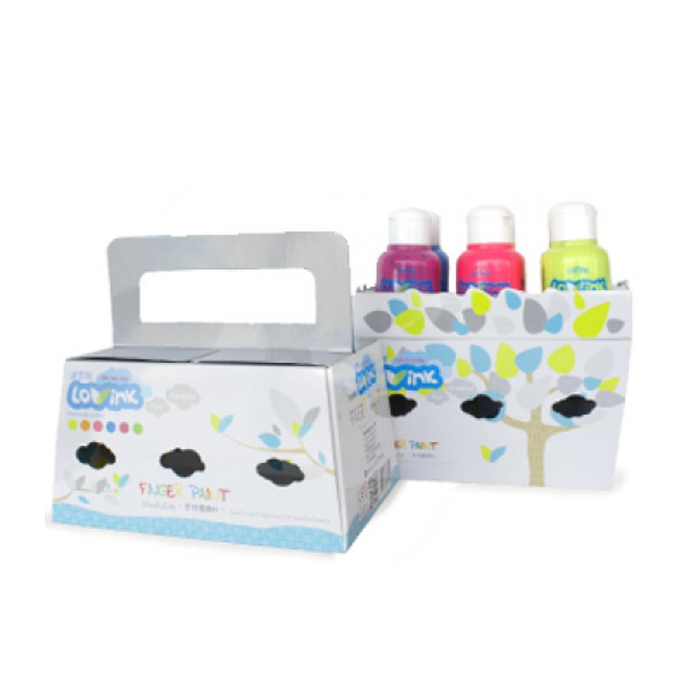 LOVINK - LOVINK 螢光六色組-(亮黃/亮綠/亮藍/亮紅/亮紫/亮橘)-盒裝